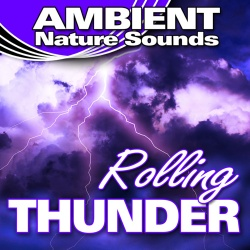 Ambient Nature Sounds - Heavy Rain And Wind With Dynamic Thunder Cracks