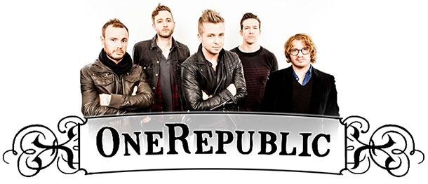 Выиграй билет на концерт группы One Republic