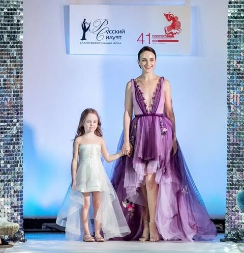 Анна Снаткина впервые показала лицо 6 -летней дочери