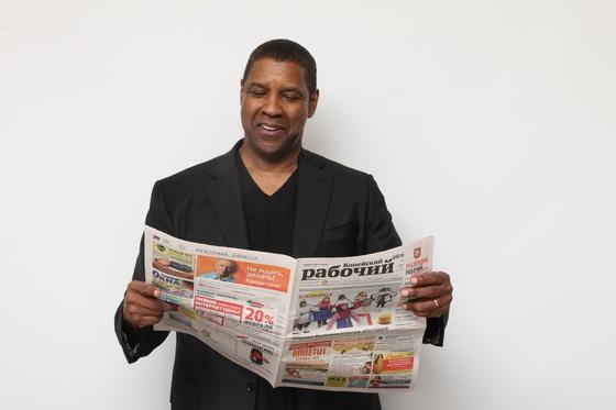 Мировые звезды фотографируются для газеты «Копейский рабочий»