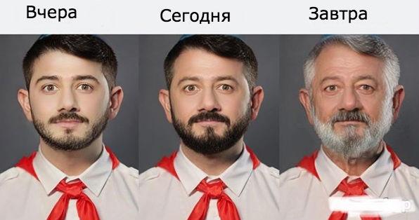 Как из-за российского приложения FaceApp стареют знаменитости