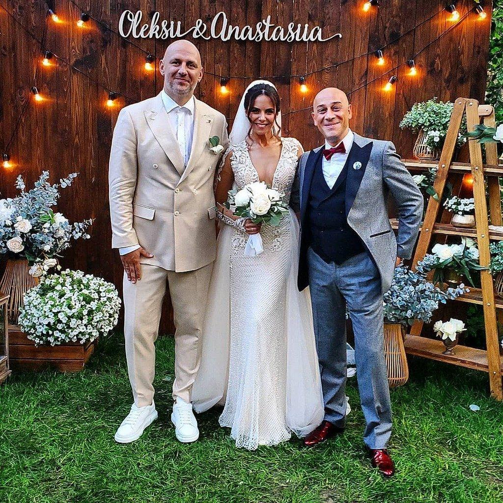 В Сети появилось трогательное видео со свадьбы Потапа и Насти Каменских